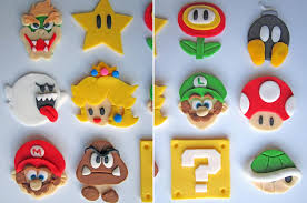 mario cake toppers mario cookie and cupcake toppers gadgetsin