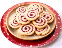 cranberry walnut swirls holiday pinwheel cookie recipe