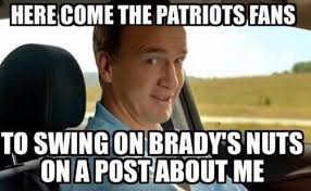 Patriots Broncos Meme - 22 meme internet here come the patriots fans to swing on brady s