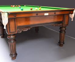 quarter size pool table elegant 3 4 sized antique billiard snooker table circa 1880 at 1stdibs
