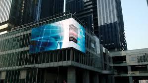 outdoor displays dot matrix high definition 10 mm pitch