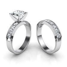 promise ring sets for him and wedding rings cheap matching wedding bands for him and trio