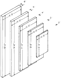 Standard Interior Wall Thickness Panel Sizes In Indiana Limestone Usage
