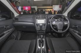 New Avanza Interior Iims 2015 Toyota Avanza Veloz Facelift U2013 From Rm54k