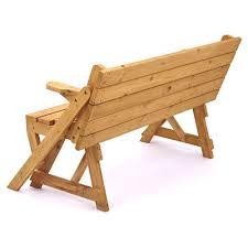 trueshopping modbury two in one convertible garden bench and