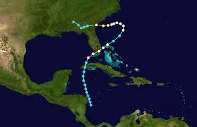 Florida Tornado Map by 1947 Cape Sable Hurricane Wikipedia