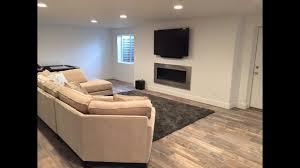 How Much Does A Laminate Floor Cost How Much Does It Cost To Finish A Basement Herriman Utah Youtube