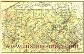 Pennsylvania Railroad Map by Road Map Of Pennsylvania