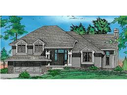 split level house with front porch bonnieview split level home plan 026d 0332 house plans and more