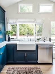 navy blue kitchen cabinet design navy kitchen cabinets go well with white counters but what