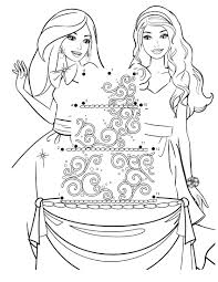 barbie and friends coloring pages vanessa talking to her parents
