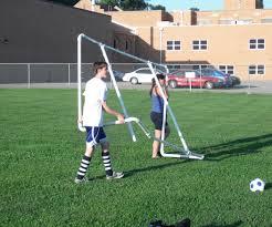 pvc soccer goals 10 steps