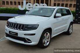 jeep grand cherokee srt jeep grand cherokee grand cherokee srt launched in india