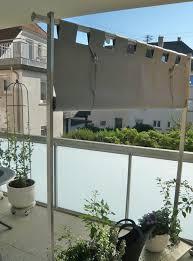 balkon windschutz ohne bohren balkonfcher ohne bohren moderner sichtschutz und feuerstelle aus