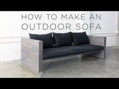 Cheap Modern Patio Furniture by How To Build A Sleek Outdoor Sofa For Cheap Outdoor Sofa Patios