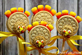 thanksgiving oreo cookie turkey pops tutorial