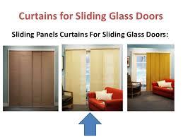 curtains for sliding glass door bifold door curtains doors