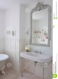 mirror above bathroom sink royalty free stock image image 33892766