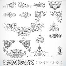 85 free vintage vector ornaments vectors 365psd