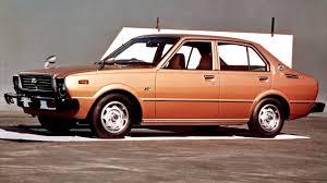 toyota corolla 4 door sedan te30 1974 79