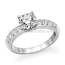 model cincin berlian mata satu fashion 925 sterling silver bridal solitaire diamond ring view