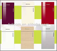 Mdf Painted High Gloss Slab Kitchen Cabinet Doors Buy Pvc - High gloss kitchen cabinet doors