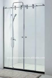 Frameless Shower Sliding Glass Doors Sliding Glass Shower Doors Frameless