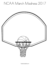 basketball logo coloring pages ncaa march madness 2017 coloring page twisty noodle
