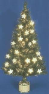 Fibre Optic Slim Christmas Trees - fibre optic christmas tree with stars rainforest islands ferry