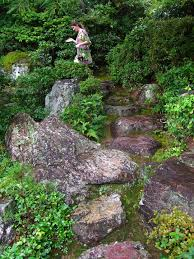 ecl goes to japan to source rocks for japanese rock garden design