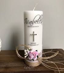 baptism candle personalised christening candle baptism candle or naming day