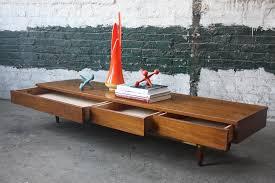 vintage style of mid century modern bench u2014 furniture ideas