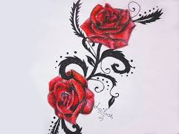 red rose tattoo idea by leilush12 on deviantart