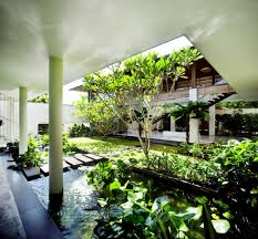 decoration wonderful house with indoor pool design and tree like