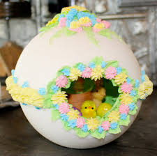 sugar easter eggs with inside miggie makes sugar peep easter egg
