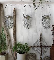 mason jar hanging wire basket home decor u0026 lighting