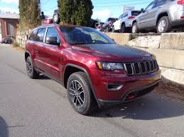 jeep grand cherokee trailhawk 2017 jeep grand cherokee trailhawk in velvet red pearlcoat for