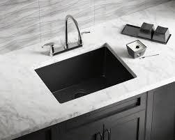 Black Single Bowl Kitchen Sink by 808 Black Single Bowl Trugranite Sink