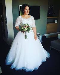 plus size bridal gowns custom made to order for curvy brides by