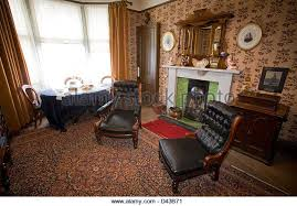 the livingroom glasgow the tenement house glasgow stock photos the tenement house