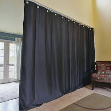 black ceiling track room divider kits easy privacyfloor to
