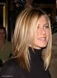 jennifer aniston hairstyle 2001 jennifer aniston sleek ironed hair with natural blended highlights