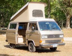 Vw Awning 1986 Gold Vw Vanagon Westfalia Camper Van 10k Miles Tent