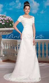 a linie herzausschnitt sweep pinsel zug chiffon brautkleid mit ruschen p782 bridesire schlichte brautkleider schlichte hochzeitskleider