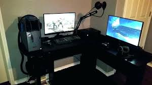 Gaming Desk Cheap Gaming L Desk Mesmerizing Gaming L Shaped Desk Desk L Shaped