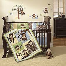 Pink Monkey Crib Bedding Baby Monkey Bed Sets Lambs And Crib