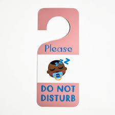 Do Not Disturb Desk Sign Personalized Door Hangers Custom Hang Tags For Hotel Doors