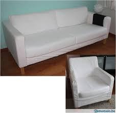 canape 3 place canapé 3 places fauteuil déhoussables ikea a vendre