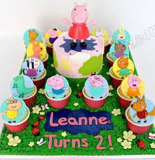 peppa pig cupcakes celebrate with cake peppa pig and cupcakes
