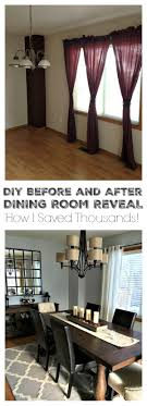 dining room decorating ideas on a budget 25 best dining room makeovers ideas on curtains